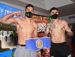 Silva y Sommariva en el peso para la pelea estelar