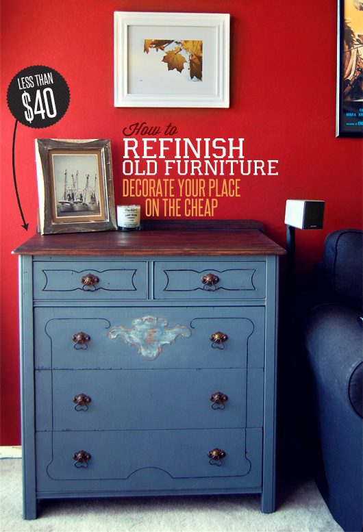How To Refinish Old Furniture Decorate Your Place On The Cheap Primer
