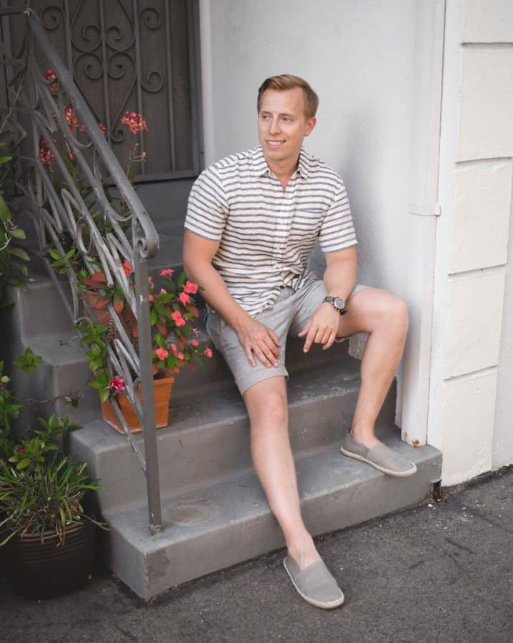 Live Action Getup: Gray Linen