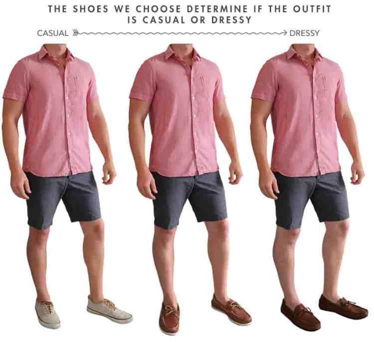 casual to dressy shoes for men's summer fashion