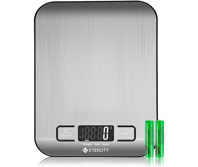 etekcity kitchen scale
