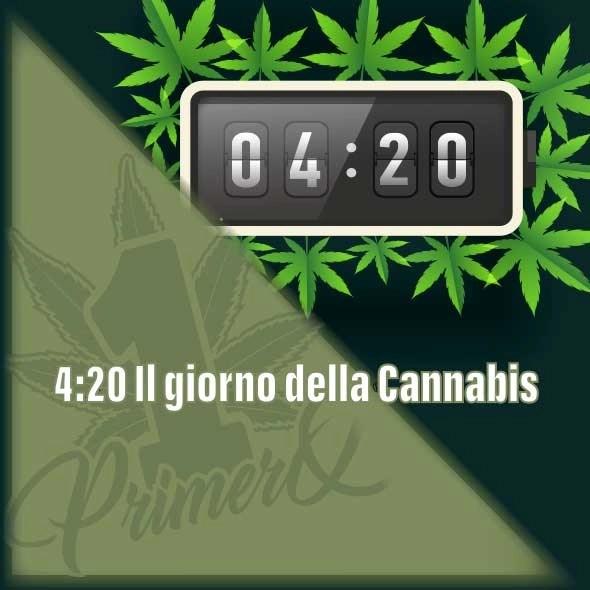 4.20, il giorno della Cannabis