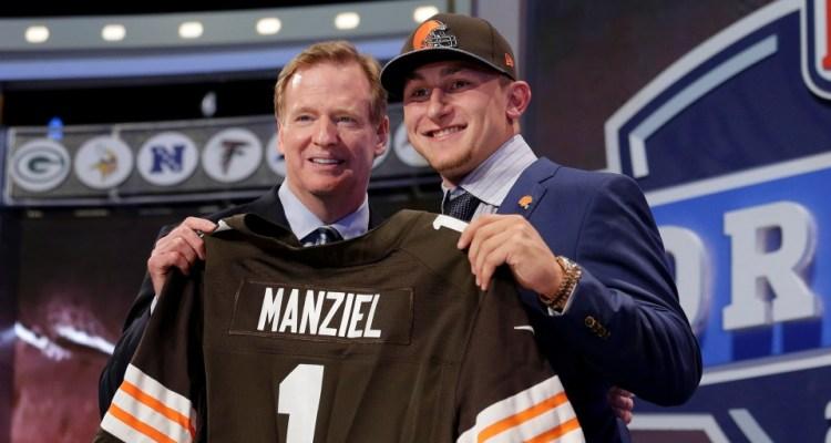 Johnny Manziel Draft 2014 Cleveland