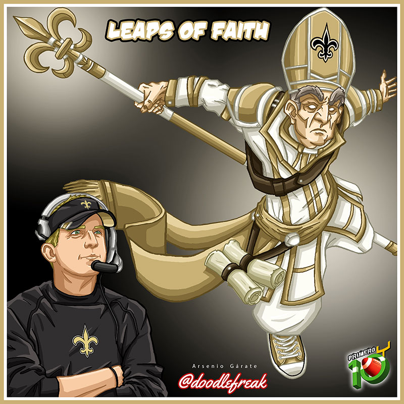 Saints-Doodle-Pretemporada