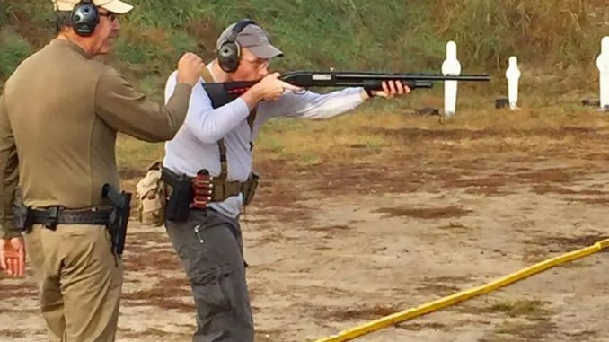 Mossberg Maverick 88 at USPSA 3 Gun