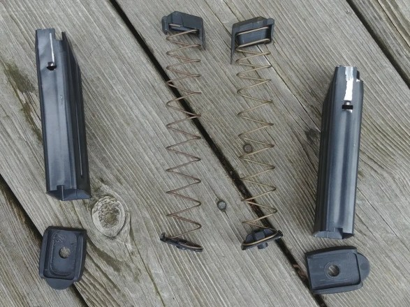 XTech Tactical VP9/P30 Magazine Exploded