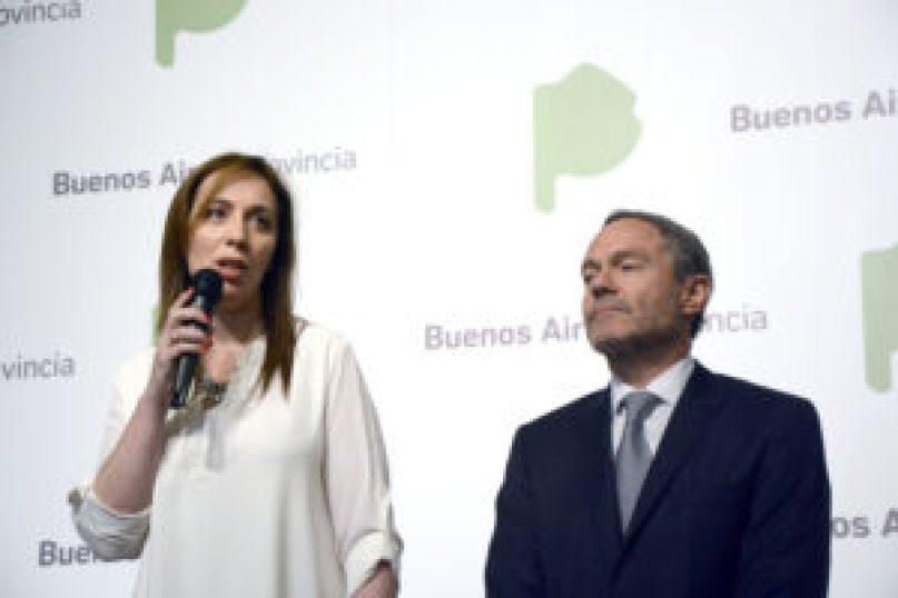 La gobernadora Vidal explicó los cambios en conferencia de prensa con el ministro Ferrari