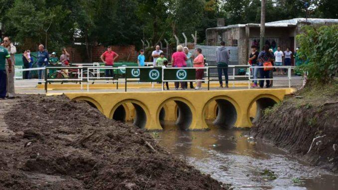 Puente en Parque San Martín