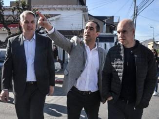Tagliaferro y Rodríguez Larreta