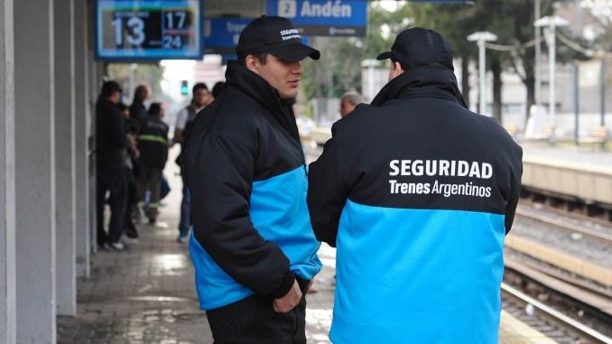 Seguridad en el Sarmiento