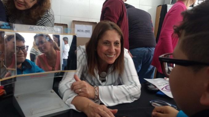 Sandra Rey anteojos