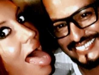 Velaztiqui Duarte con Natacha