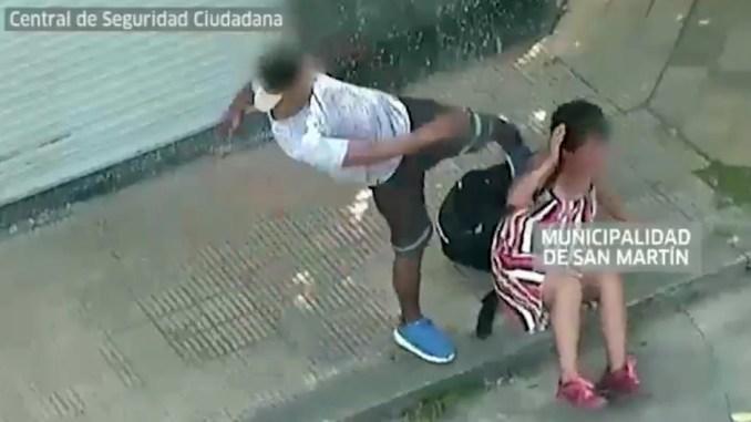 Ataque en San Martín
