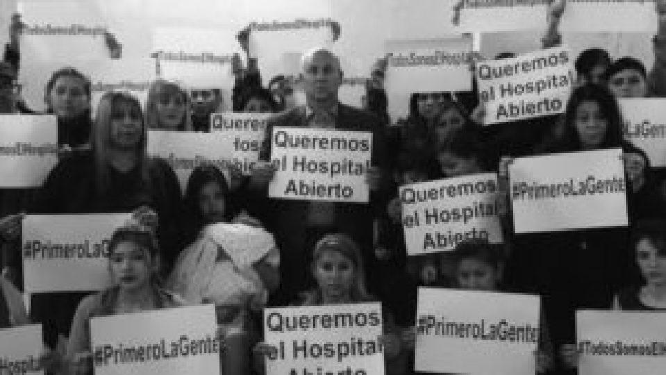La puesta en funcionamiento del Hospital de Bicentenario es otra de las promesas de campaña que el candidato de Alternativa Federal tienen en carpeta