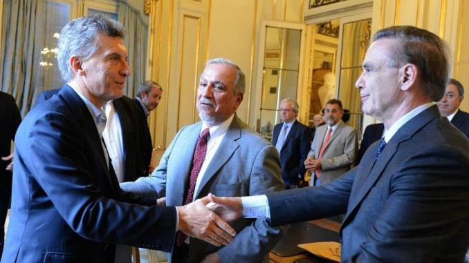 Macri y Miguel Pichetto