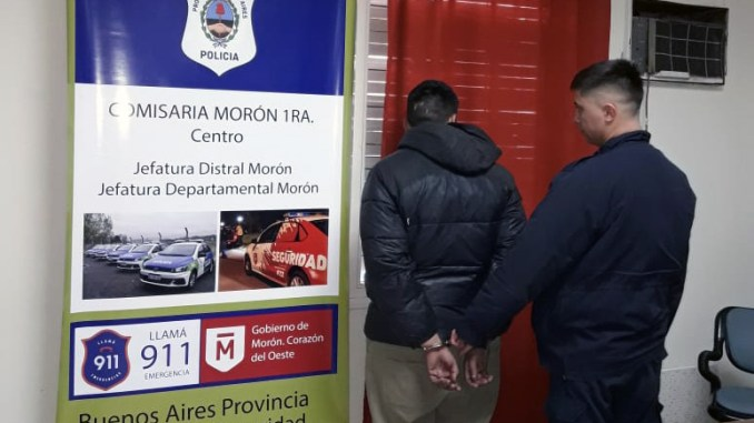 Detenido por robo a panadería en Morón