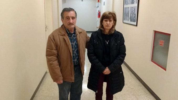 Papá y mamá de Diego Roda