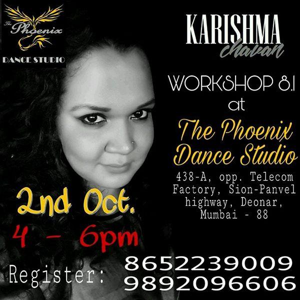 Karishma Chavan Workshop