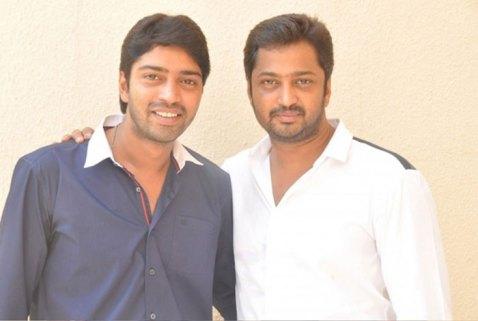 Allari Naresh With His Brother