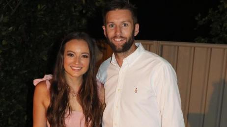 Andrew Tye With Bonnie Raynor