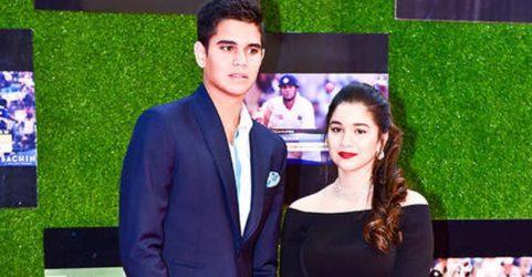 Arjun Tendulkar With His Sister