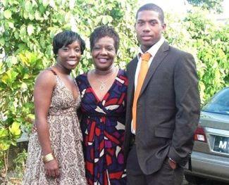 Chris Jordan With His Family