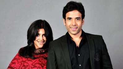 Ekta Kapoor With Her Brother