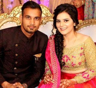 Siddarth Kaul With Harsimran-Kaur