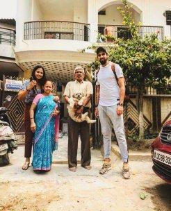 Ishant Sharma With His Family