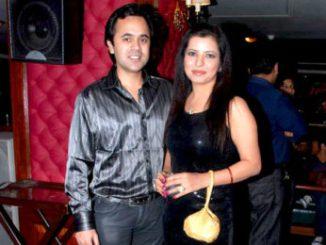 Jennifer Mistry Bansiwal With Mayur Bansiwal