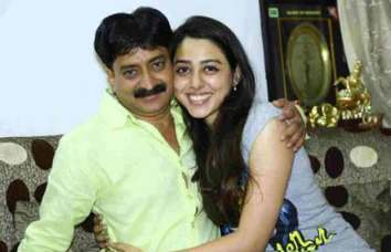 Jheel Mehta With Her Father