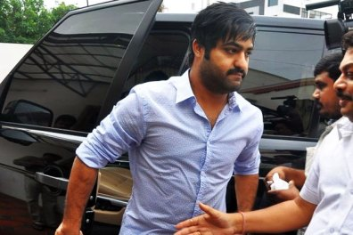 Jr. NTR With His Car