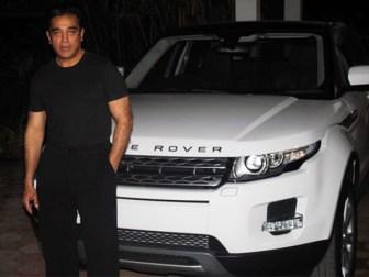 Kamal Haasan With His Car