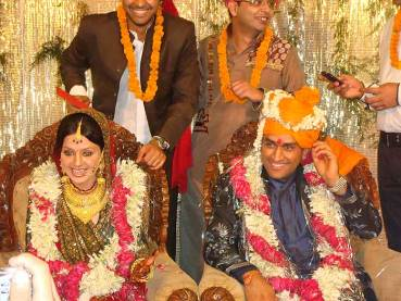 Mahendra Singh With Sakshi Dhoni