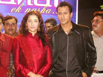 Manisha Koirala With Aryan Vaid
