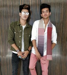 Manjul Khattar With His Brother
