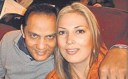 Mohammad Azharuddin With Shannon Marie