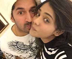 Mohit Sharma With Shweta Sharma