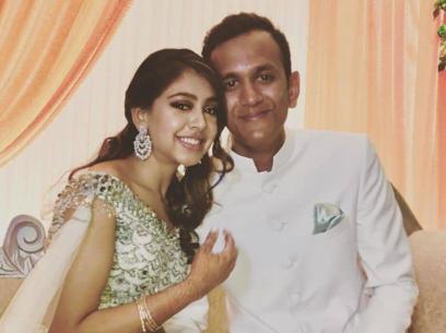 Niti Taylor With Parikshit Bawa
