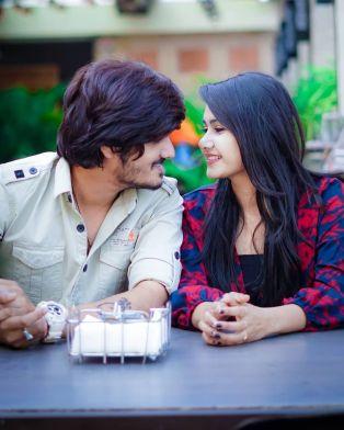Pankaj Joshi With Divya Upadhyay