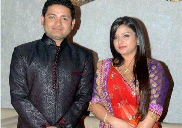 Piyush Chawla With Anubhuti Chauhan