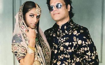 Poonam Pandey With Sam Bombay