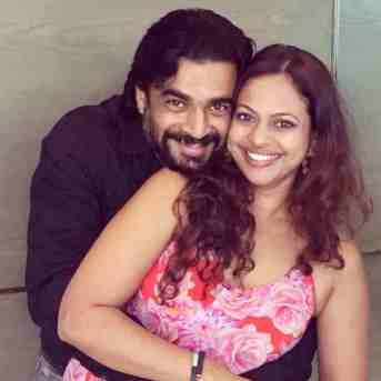 R. Madhavan With Sarita Birje