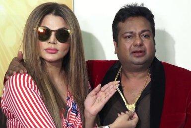 Rakhi Sawant With Deepak Kalal
