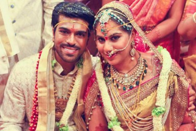 Ram Charan WIth His Wife