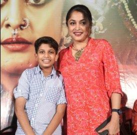 Ramya Krishnan With Her Son