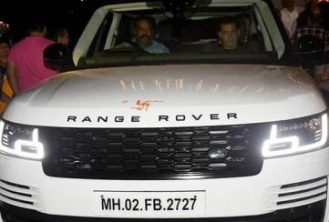 Salman Khan With His Car