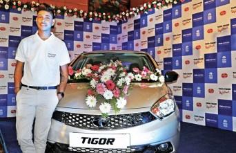 Sandeep Lamichhane His Car
