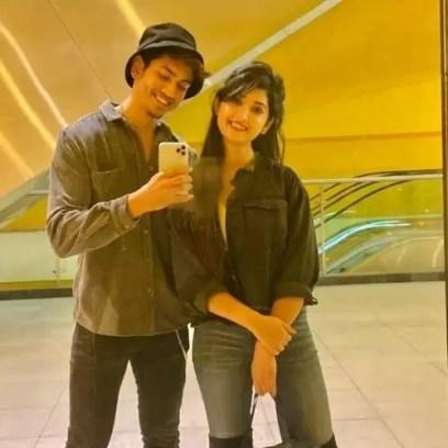 Satvik Sankhyan With Isha Sharma