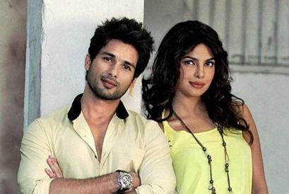Shahid Kapoor With Priyanka Chopra